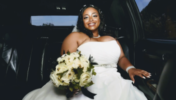 Nicole Yvette Signature Events - April and Alzee Wedding - April Limo 16