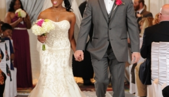 Nicole Yvette Signature Events - Asisha Ira Wedding - Officially Husband and Wife - R Crank