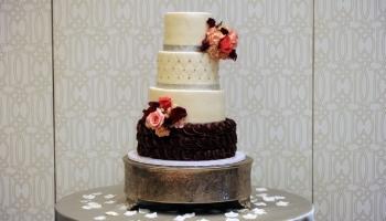 Nicole Yvette Signature Events - Asisha Ira Wedding - Wedding Cake - R Crank