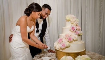 Nicole Yvette Signature Events - BenjaminJauniceWedding Cake 17