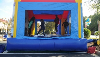 Nicole Yvette Signature Events - Bridge Bash Bouncy