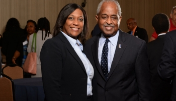 Nicole Yvette Signature Events - M&F Bank Annual Meeting and Reception 2017 - Mayor Bill Bell and Nicole
